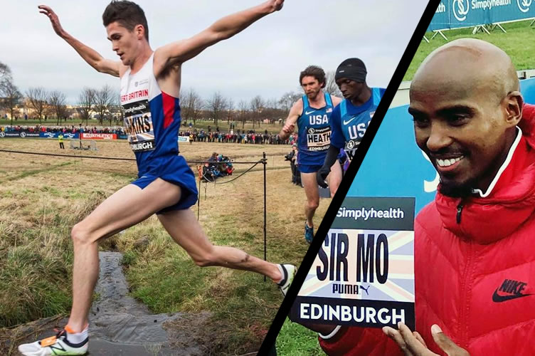 Cross Edinburgh Great Winter Run 2017: Farah siódmy !