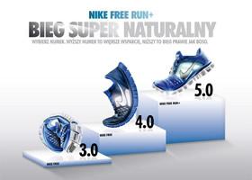 Nike Free 3.0 4.0 5.0 Comparison