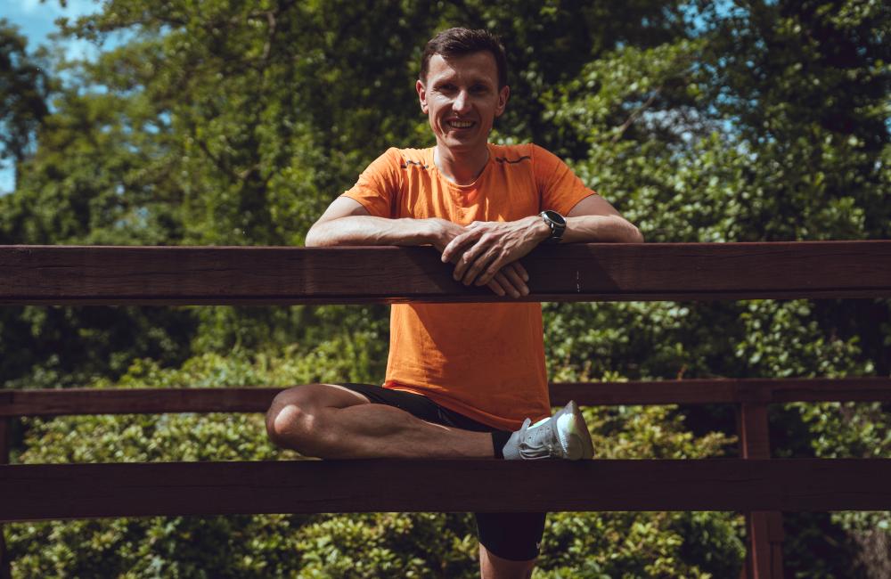 trener biegania