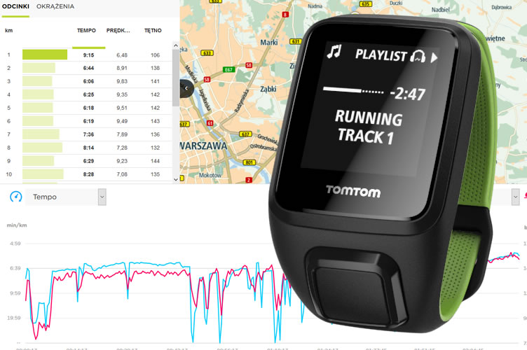 TomTom Runner 3 HR + Music [TEST]