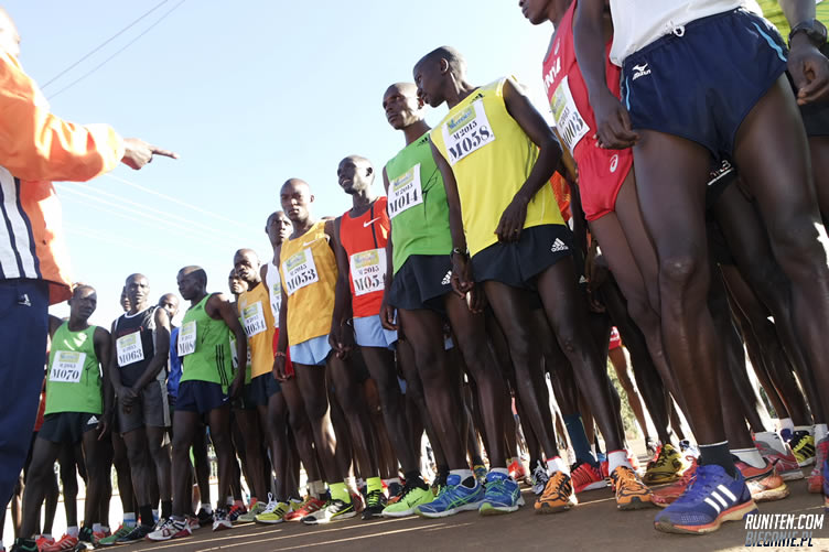 The home of Champions hosts the first marathon ever