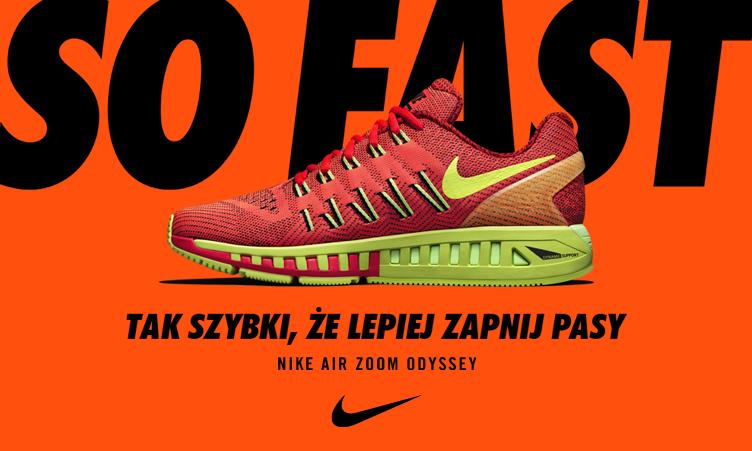 9601e2116 SklepBiegacza.pl/ Nike Air Zoom Odyssey - prezentacja i pierwsze wrażenia
