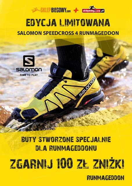 Salomon Speedcross 4 Runmageddon