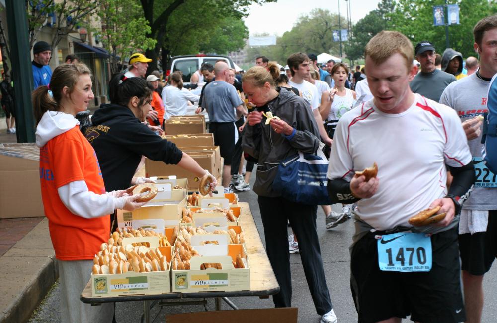 jedzenie maraton 1