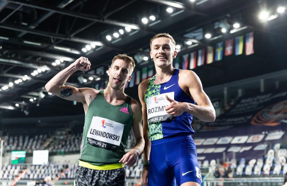 Marcin Lewandowski i Michał Rozmys