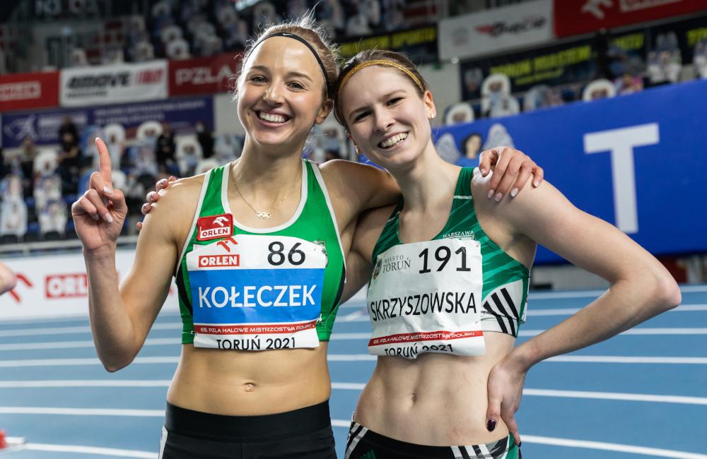 Karolina Kołeczek i Pia Skrzyszowska