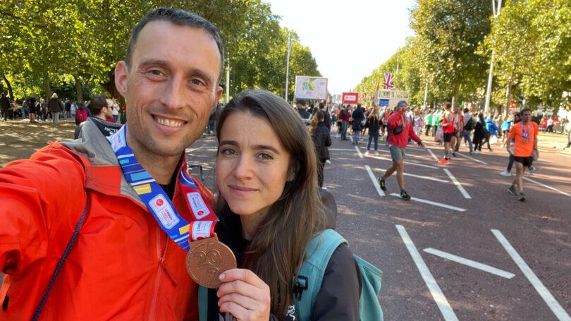 London Marathon podcast